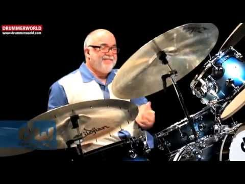 PETER ERSKINE: Checking out his DW Jazz Drums