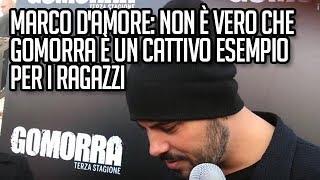 Marco D'Amore: Non è vero che Gomorra è un cattivo esempio per i ragazzi - TVZoom.it