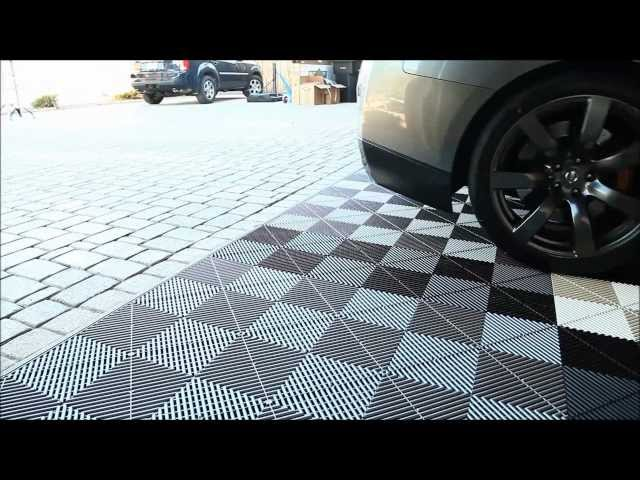 garage flooring inc installs vented xl modular with loop control youtube for musicians