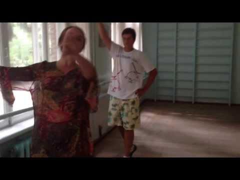 Картули - репетиция! Kartuli rehearsal Сандра и Даниель Глурджидзе