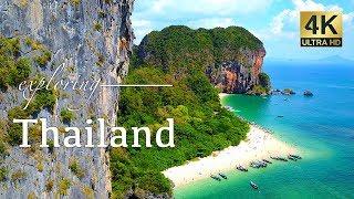 Thailand By Drone - Phuket, Phi Phi Islands & Krabi - 4K Travel Video