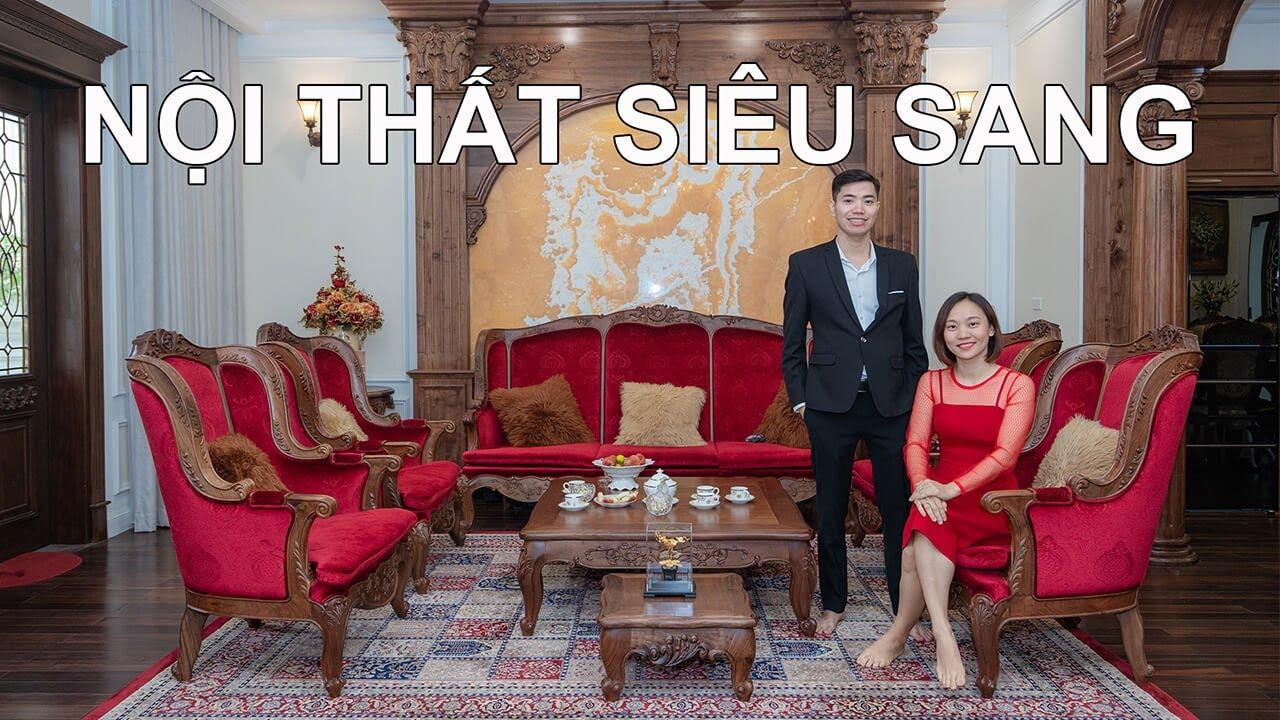 Khám Phá Biệt Thự Tân Cổ Điển Gỗ Óc Chó Siêu Sang 542m2 Ông Thuận –  Hà Nội