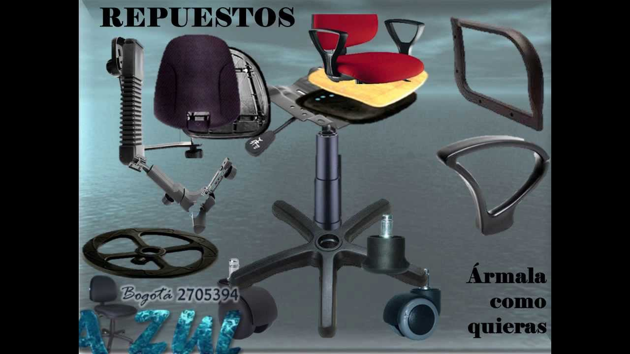 sillas de oficina giratorias fabrica repuestos