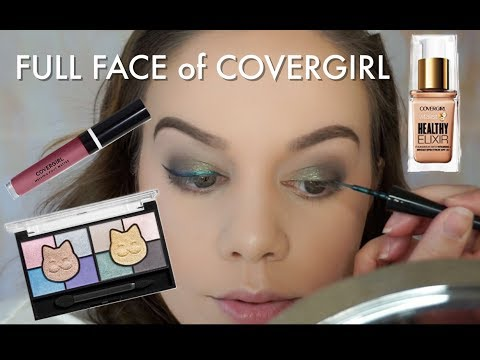 DRUGSTORE ONE BRAND MAKEUP TUTORIAL | COVERGIRL!