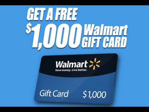 Walmart gift card and walmart egift card balance youtube negle Images