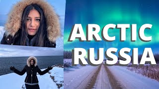 Murmansk, Russia Vlog | Northern Lights, Huskies, Arctic Coast 😍