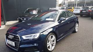 191D3200 - 2019 Audi A3 1.0TFSI S-Line 4DR  PetrolAuto 31,950