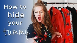 How to hide your tummy for women over 40 - how to look slimmer over 40
