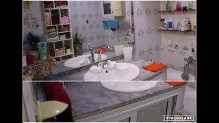 روتين ليلي بسيط  سهل جدا يعطيك نظافة و لمعة ممتازة لحمامك و مرحاضك و أحواض بيتك👍من التدابير الرائعة