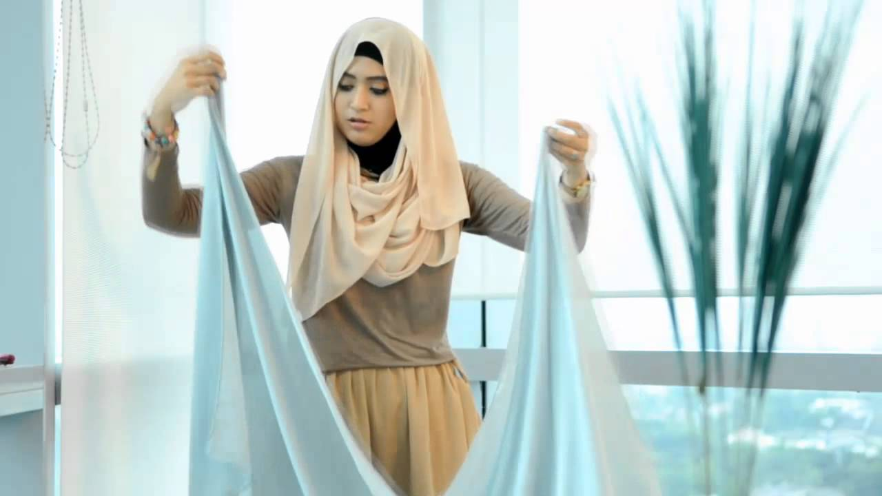 1 Hijab Tutorial Pashmina Menjadi Jilbab Dan Cardigan YouTube