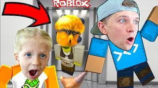 CRAZY ELEVATOR in ROBLOX-adventure cartoon game about pixel heroes videos for kids from FFGTV