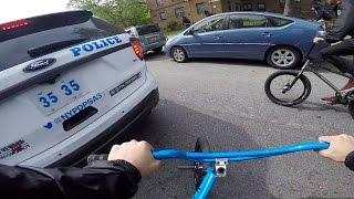 riding bmx all over brooklyn ny