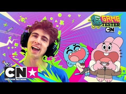 Gumball vs Favij | Game Tester | Cartoon Network