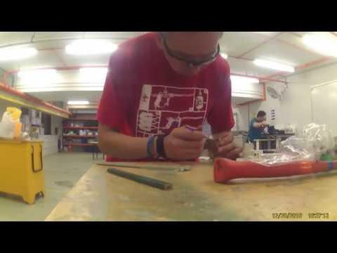 Making of resin ring