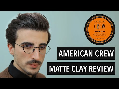 American Crew Matte Clay | Review