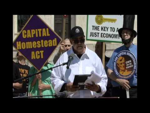 "Rev. Robert Brantley states ""Why We Rally at the Fed."""