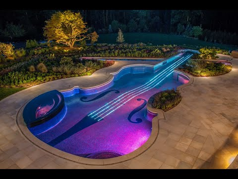 Ideas para decorar piscinas fotos espectaculares 2015 for Decoracion de patios con piscina