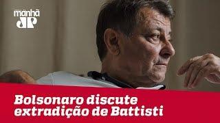 Bolsonaro se reúne com embaixador italiano para discutir caso de Cesare Battisti