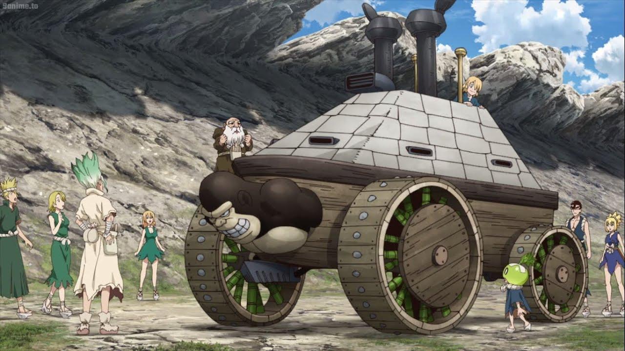 Dr Stone Season 2 | Making Tank | Detective Suika is Back! - YouTube
