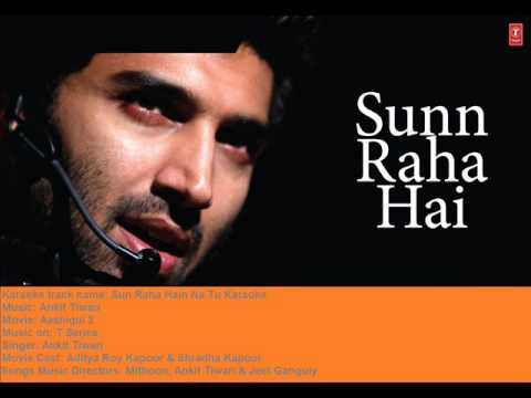 Sun Raha Hai Na Tu Full Original Karaoke With Chours