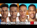 Russell Westbrook Ratings and Face Evolution (College Hoops 2K7 - NBA 2K19)