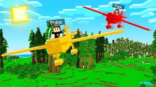We Flew MINECRAFT PLANES.. and other amazing vehicles