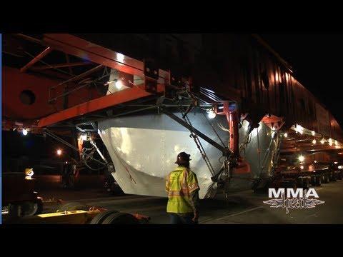 LACMA: Levitated Mass - On The Move (The 340-ton Rock)