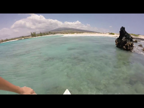 EXTREME OFFSHORE WIND AND SHALLOW REEF IN HAWAII  | Surfing HD in Hawaii (RAW FOOTAGE)