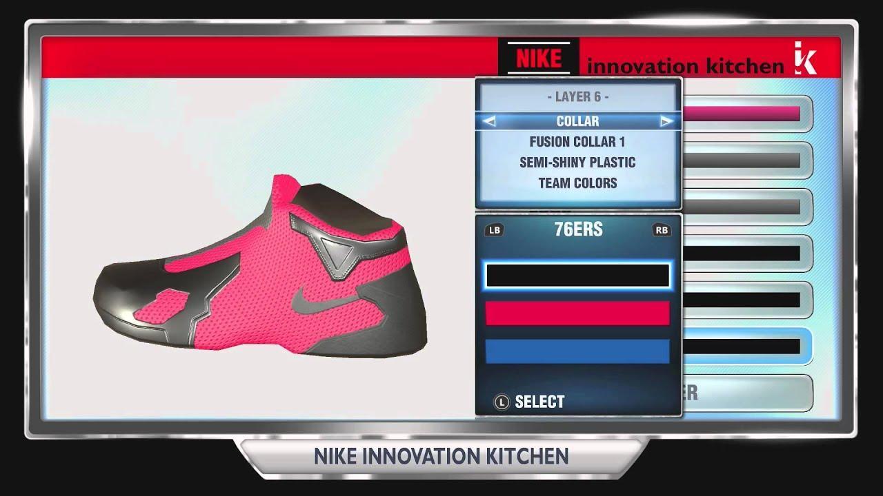NBA 2K14  Nike Innovation Kitchen  Unlocking My Lebron 11 Code ... 129bdfcff