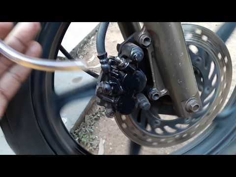 How To Fix Jammed Disc Brakes.