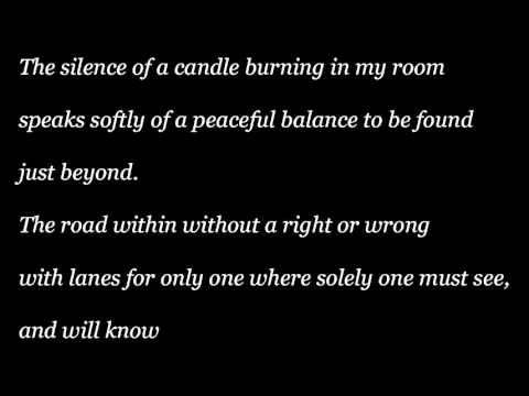 The silence of a candle.wmv