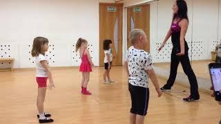 Детская гимнастика, фитнес для детей 3 - 5 лет. Открытый урок. Студия Гули Гули