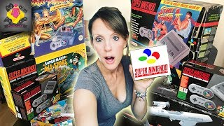 SNES CONSOLES AND EXTRAS | Super Nintendo Passion | Retro Game Collection | TheGebs24