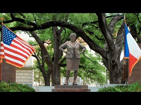 Barbara Jordan Statue Unveiling