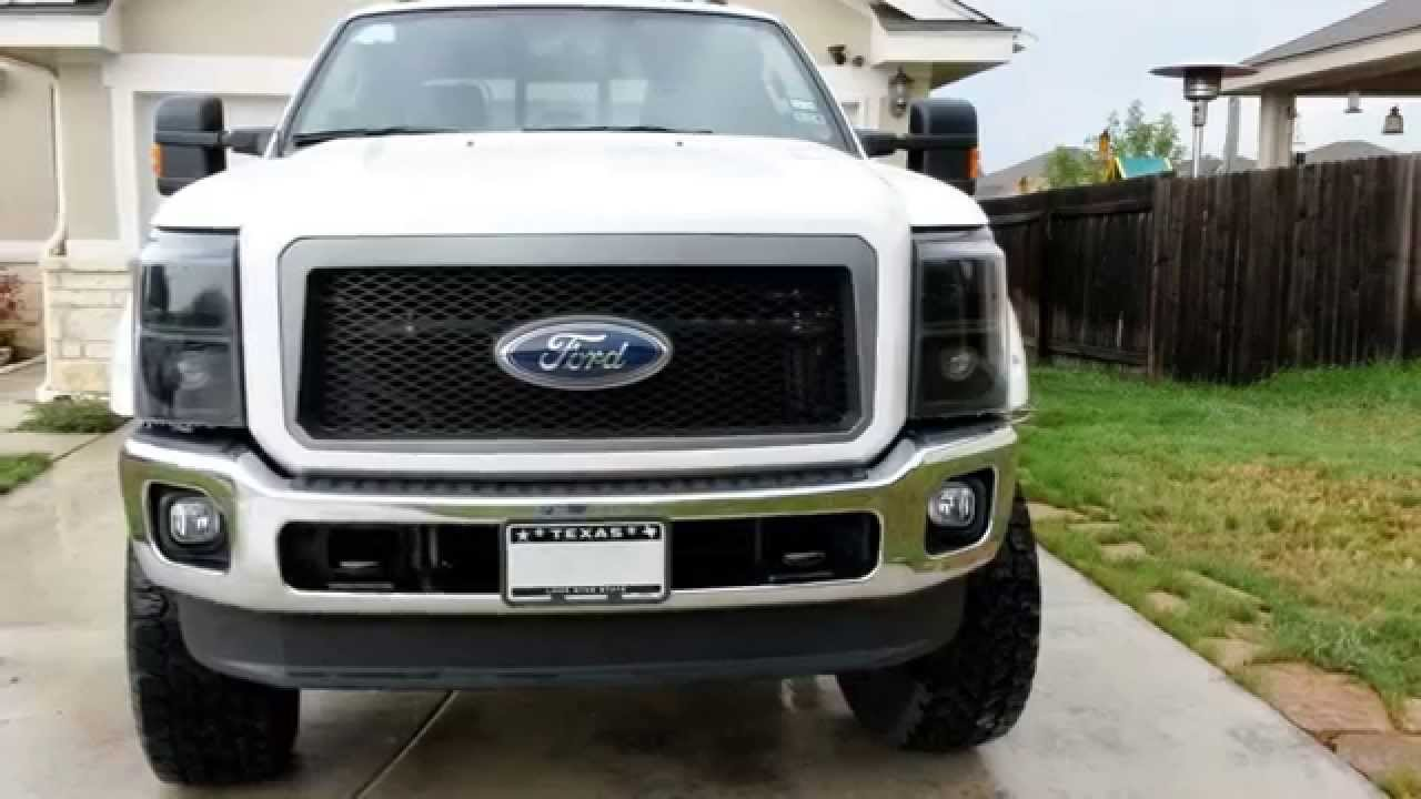 2016 Ford Super Duty >> Ford F250 Lifted Super Duty 2014 - YouTube