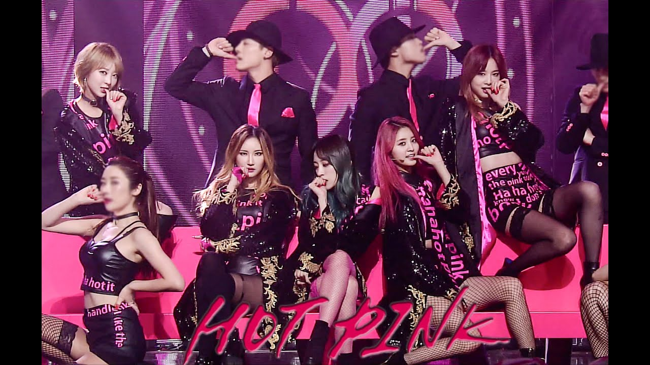 Check Out The Pro Pics From Our Hot Pink Destination: Hot Pink (핫핑크) 무대 교차편집 [Live Compilation/Stage Mix