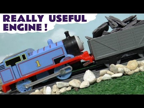 Thomas The Tank Engine Really Useful Engine Toy Train Story with the funny Funlings TT4U