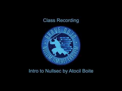 Intro to Nullsec and Fleet 101 Audio - November 2018 -Atocil Boite -  Eve Online