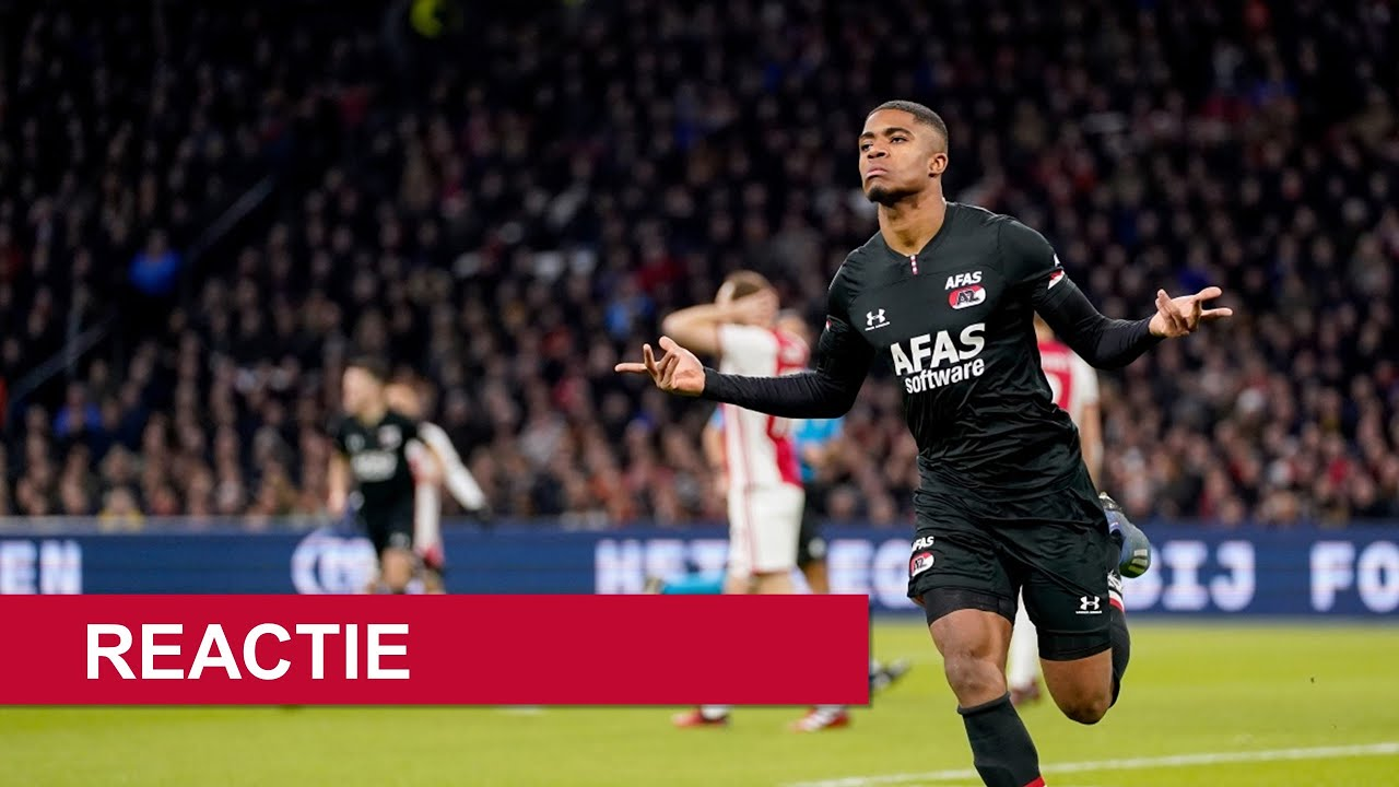 Highlights Ajax Az Eredivisie Youtube