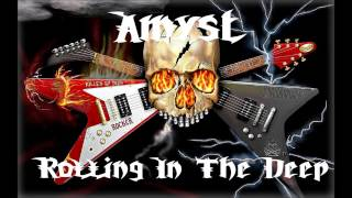 Amyst - Rolling In The Deep (Adele Screamo Cover) [Full HQ]