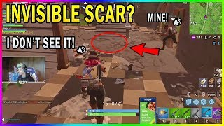 NINJA ENCOUNTERS A RARE BUG WHERE LOOT IS INVISIBLE!? - Fortnite Moments drôles #381