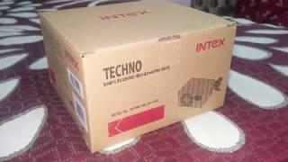 Informational & Unboxing video of Intex 450 20+4PIN Power supply PSU video --- HINDI