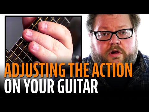 How To Adjust The Action On An Acoustic Guitar