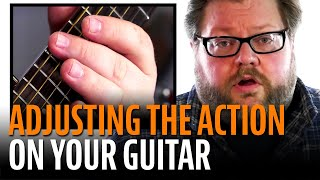 Download How to Adjust the Action on an Acoustic Guitar Mp3 and Videos