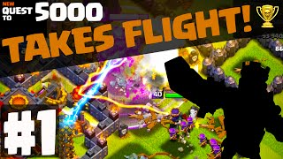 Clash of Clans ♦ NEW Quest to 5000 BEGINS! ♦ Episode 1 ♦ CoC ♦