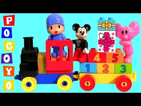 Birthday Cupcake Easter Eggs Surprise For Mickey Mouse Pocoyo Lego