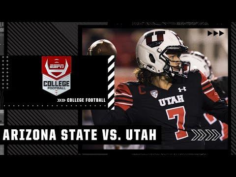 Arizona State at Utah | Full Game Highlights