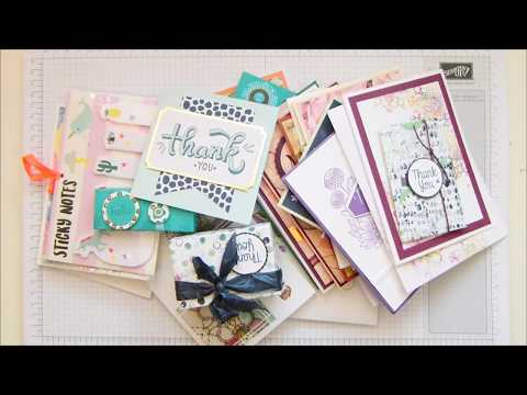 Stampin' Up! Cards in the Mail to Me - วันที่ 14 Jul 2018