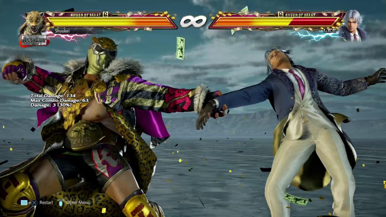 tekken 7 king rage art