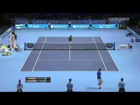 ATP Master Final 2011 Federer - Tsonga Londres Résumé Highlights HD.m4v